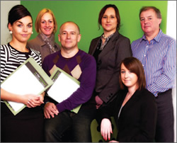 the team at fish recruitment